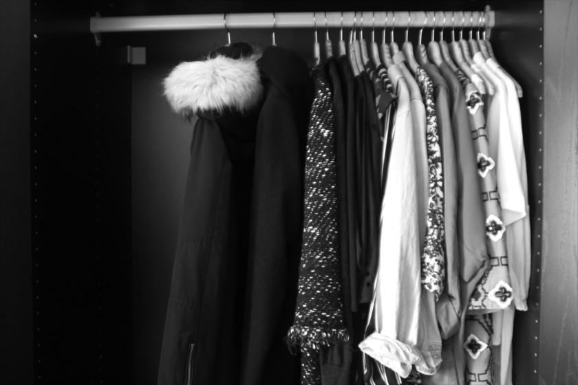 Kleider, Jacken, Blusen