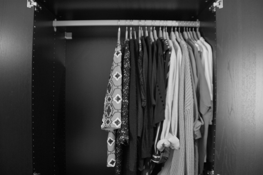 Kleiderschrank Konsumdiät