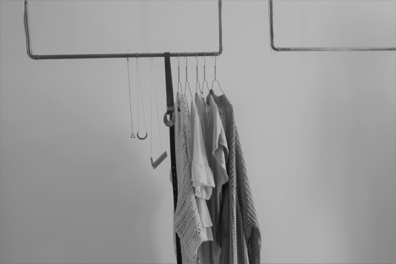 Kleiderstange minimalistisch